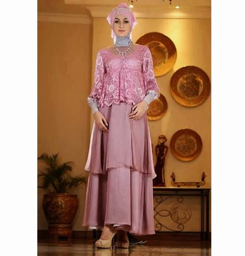 model baju pesta muslimah
