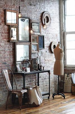 4 Espelhos na decoração da sua casa...!
