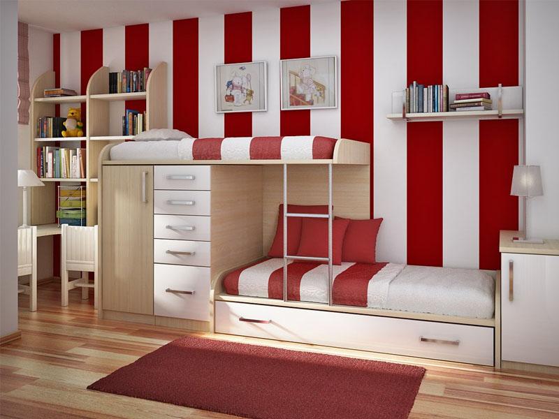 Warna Kamar Tidur Anak Dan Furniture Minimalis