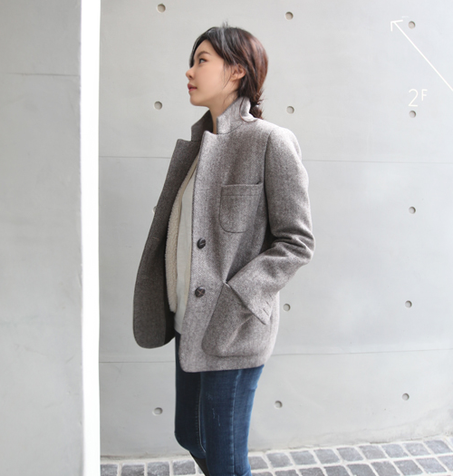 Three Patch Pocket Jacket