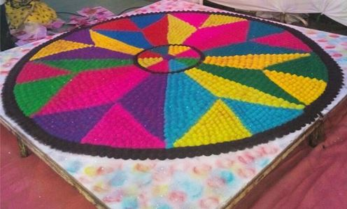 Awesome Holi Rangoli Designs ! Art Magazine