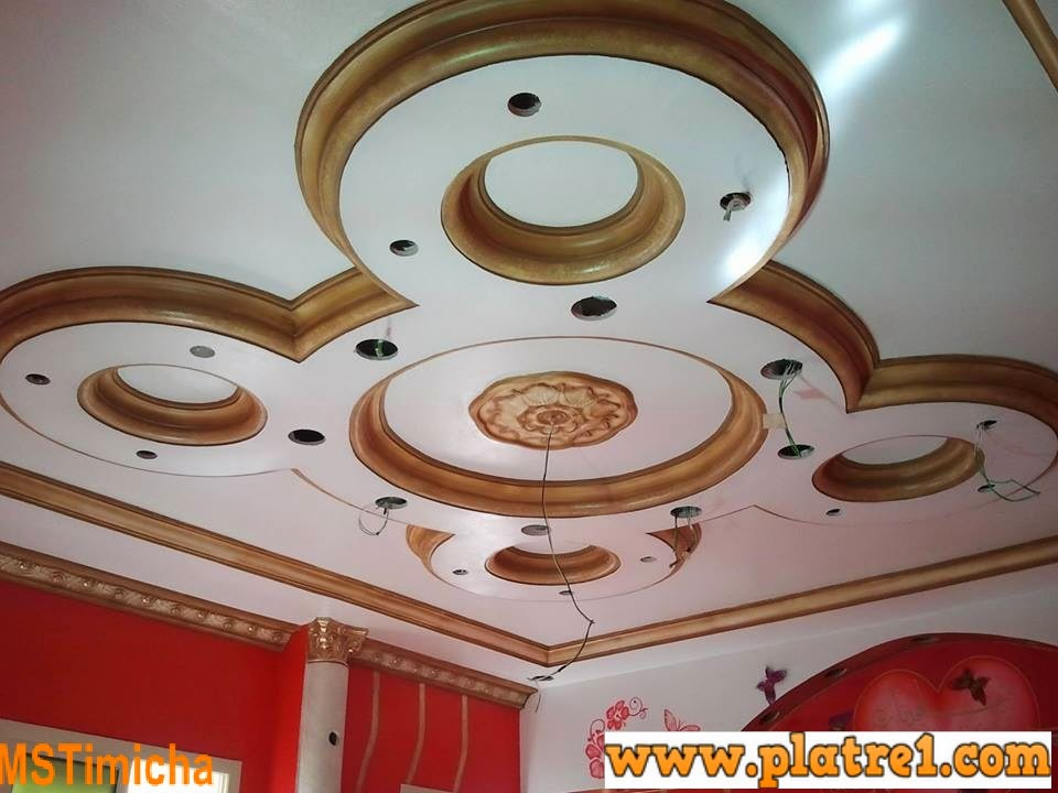 Decor platre 2014 platre for Decoration platre marocain 2014
