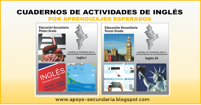Libros de inglés para descargar gratis con actividades por aprendizaje esperado de Secundaria