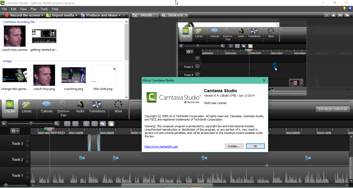 Camtasia Studio software descargar