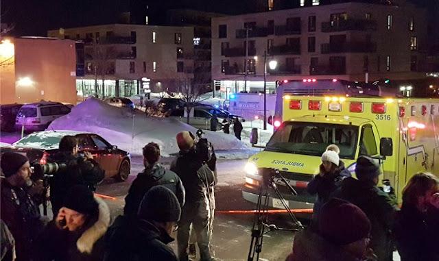 Ataque en Quebec, Canadá