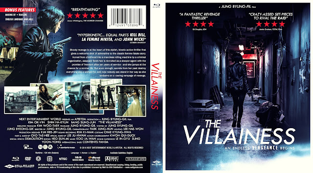 The Villainess Bluray Cover
