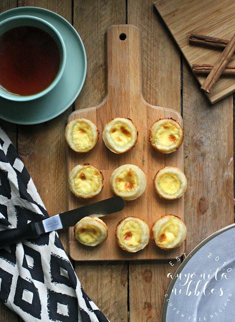 Gluten Free Egg Custard Tarts