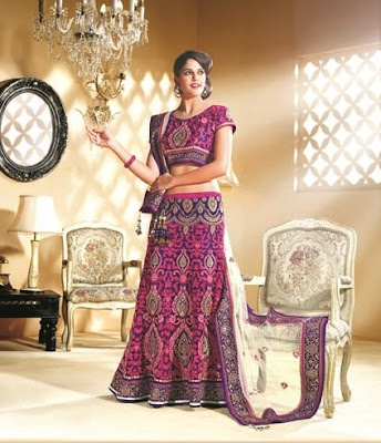 Designer Lehenga and Choli