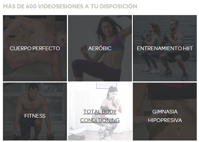 Plan de entrenamiento y gimnasio online gratis