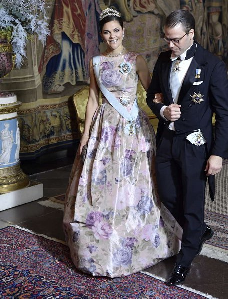 Queen Silvia, Crown Princess Victoria, Princess Sofia, Princess Madeleine wore Seraphine Maternity Dress