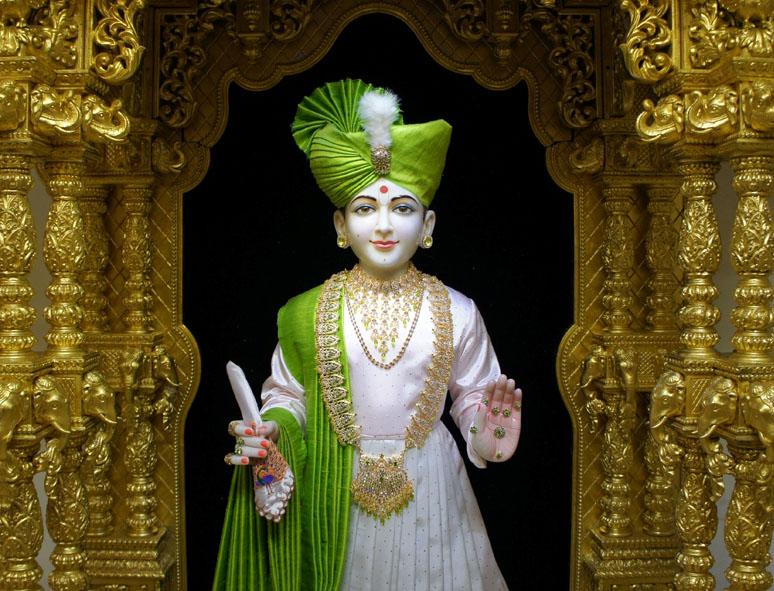 Baps Ghanshyam Maharaj Hd Wallpaper Shreeswaminarayanbhagwan Ghanshyam Maharaj In New Clothes