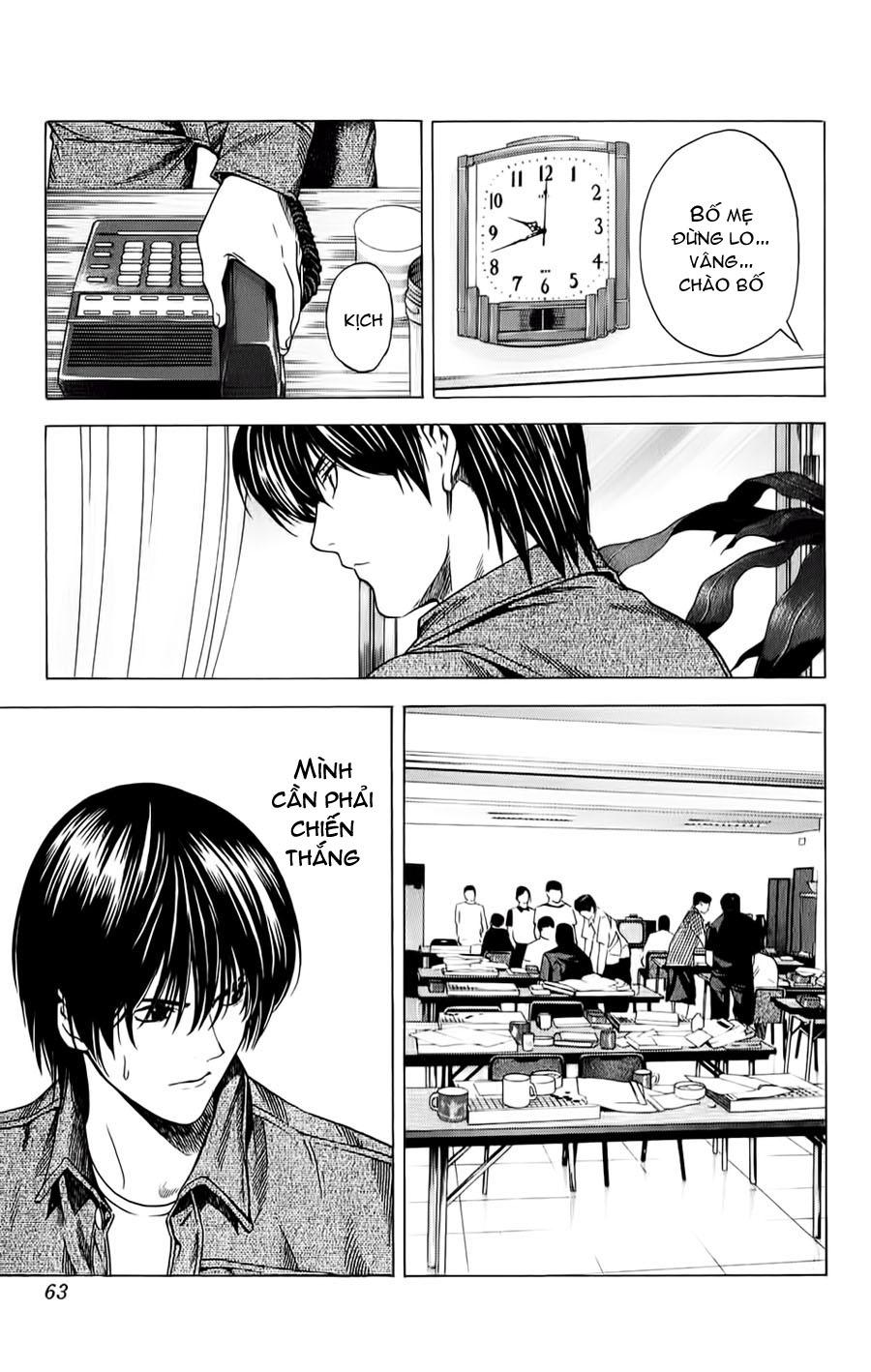 Hikaru No Go hikaru no go chap 133 trang 16