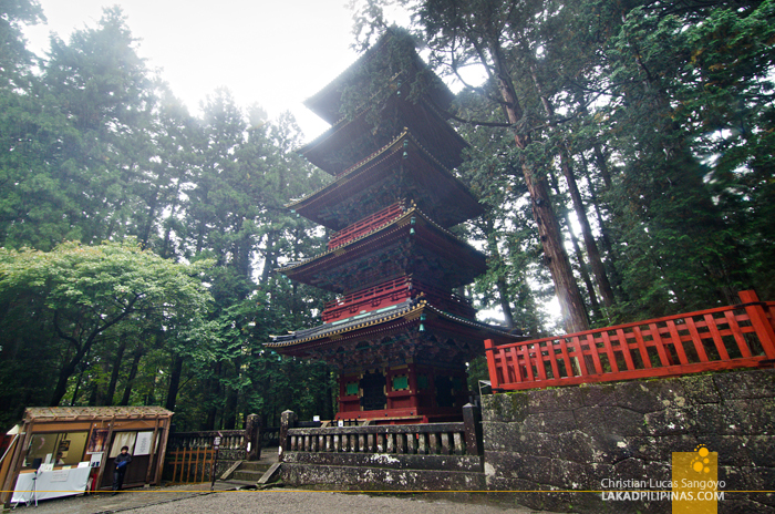 Nikko Temple Run Gojunoto Pagoda