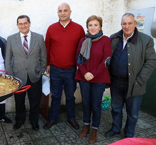 """Los socialistas de Alhama despiden el 2017 con una comida """"en familia"""""""