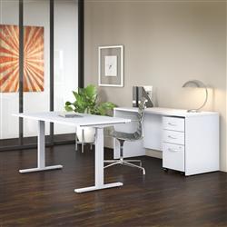 Studio C sit to stand desk