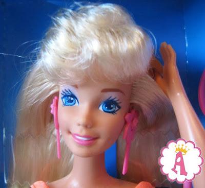 Блондинка кукла барби с длинными волосами, куклы 90-х