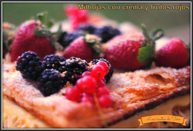 milhojas rellenas de crema pastelera y frutos rojos 03