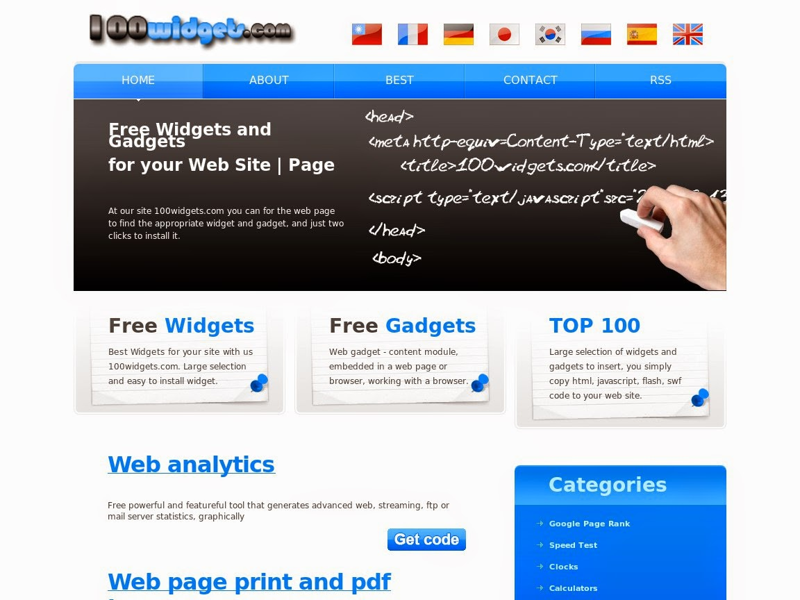website800s blog: Places to find free widgets for your website