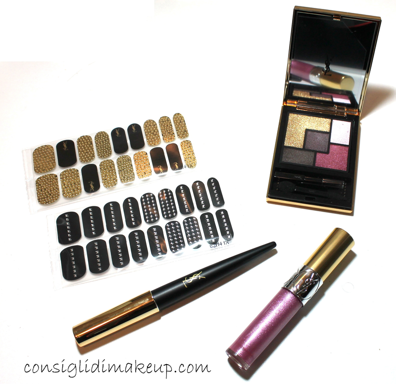 16bb9048fe Review & Swatches Collezione Pretty Metals - Yves Saint Laurent ...