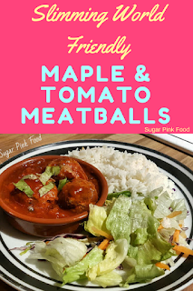 maple and tomato meatballs slimming world recipe