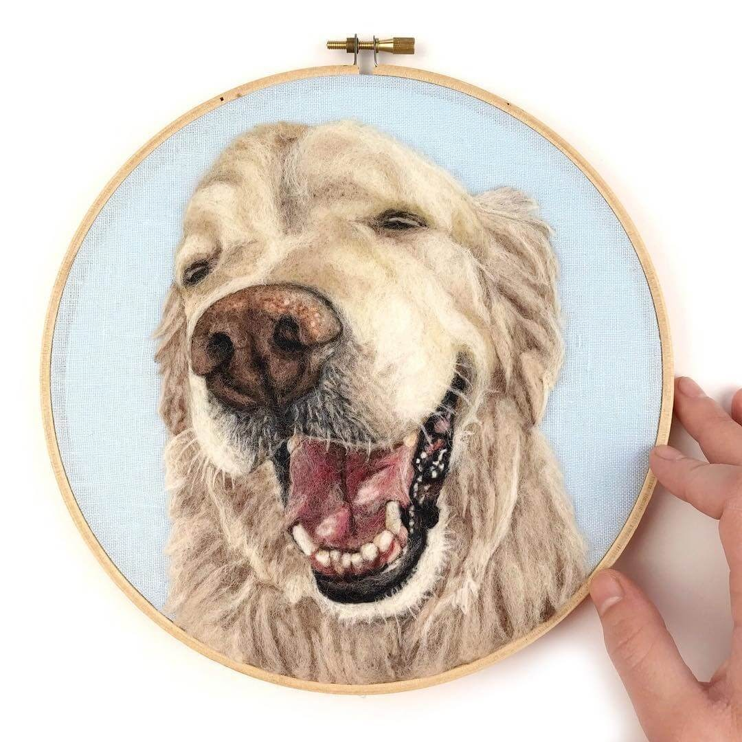07-Golden-Retriever-Dani-Ives-Needle-felting-Wool-and-Needle-Animal-Portraits-www-designstack-co