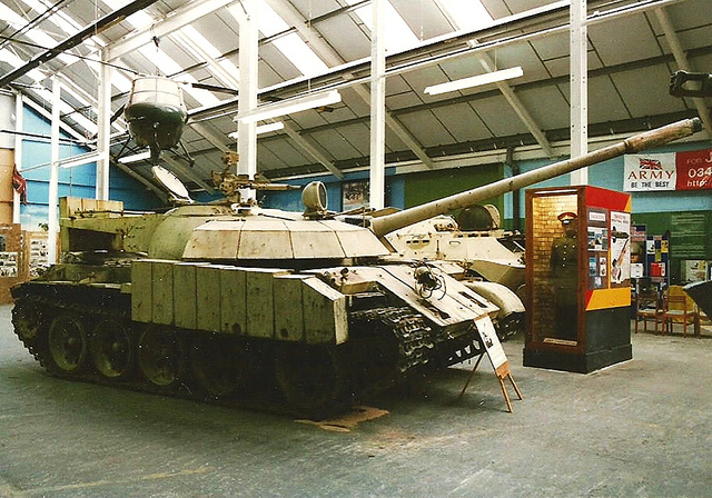 Father of T-72Z tank is the Russian T-55 main battle tank
