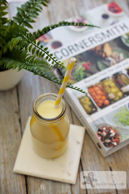 mango cardamom yogurt milkshake