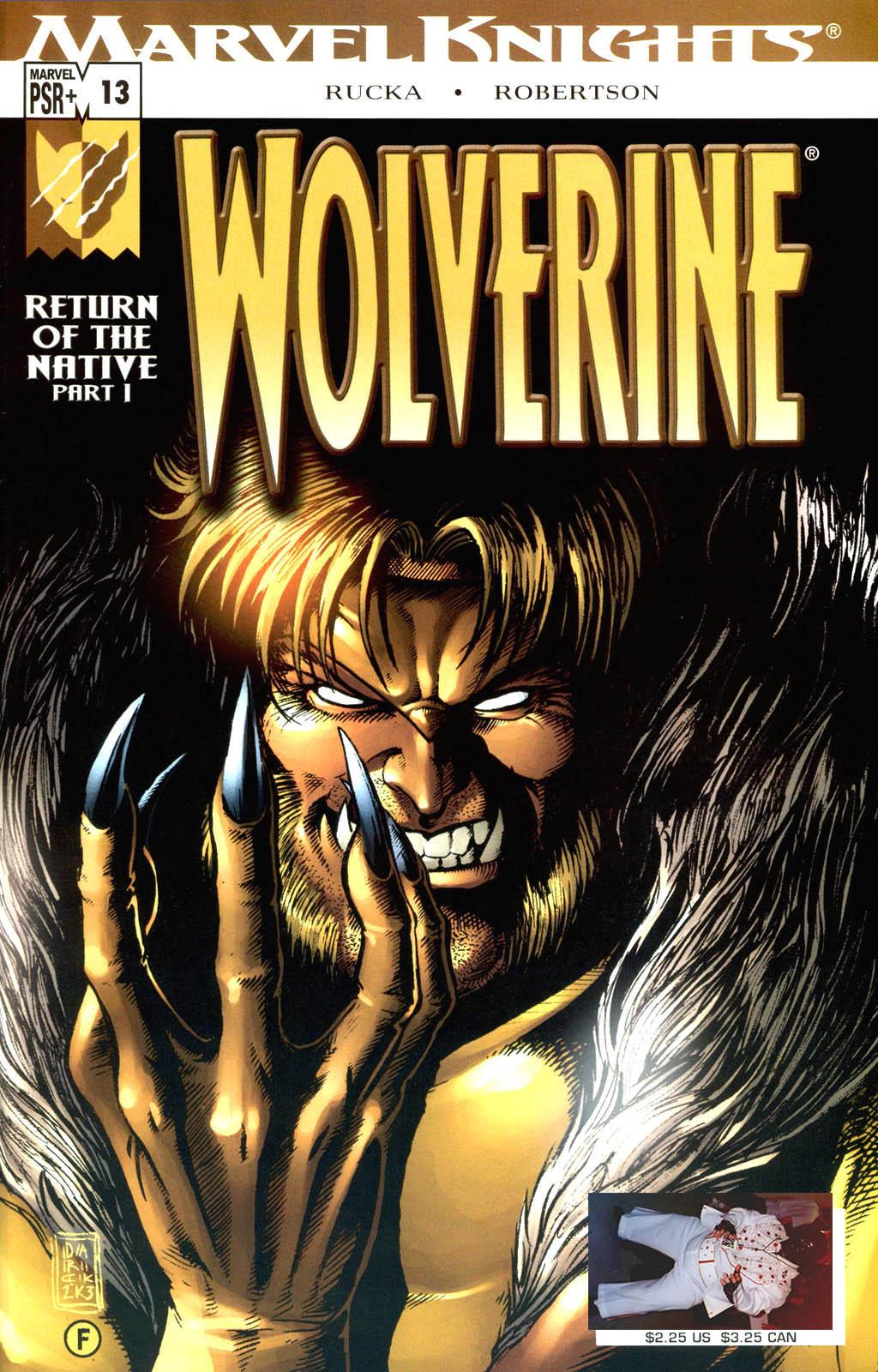 Read online Wolverine (2003) comic -  Issue #13 - 1