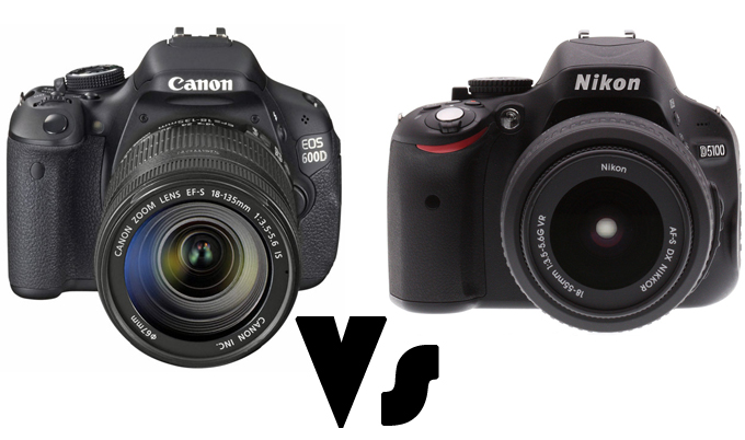 Canon 600d Vs Nikon D5100 Detailed Comparison - Www imagez co