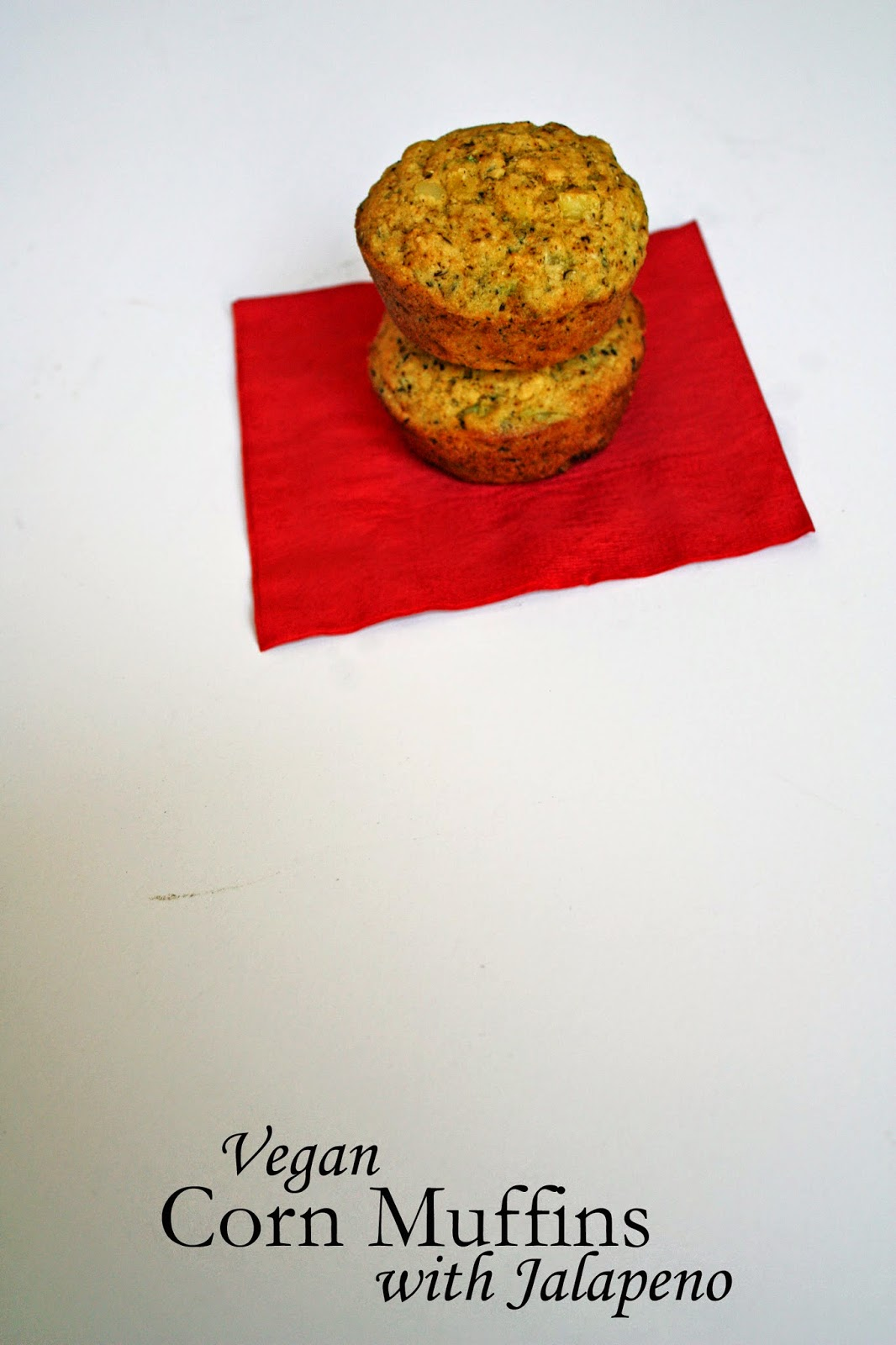 vegan jalapeno corn muffins from how to philosophize with cake