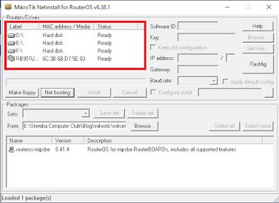 muncul type router