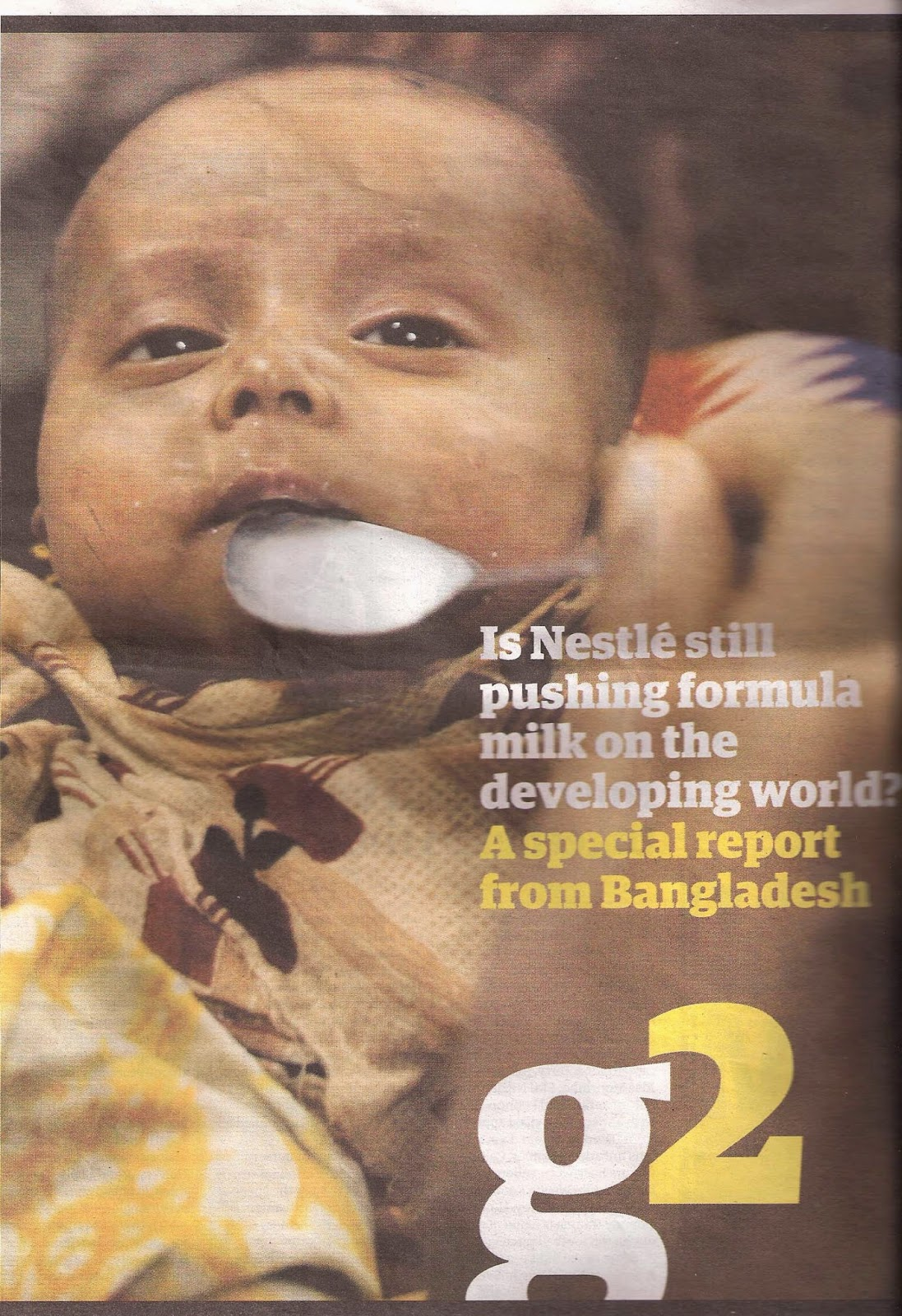 nestle baby formula controversy