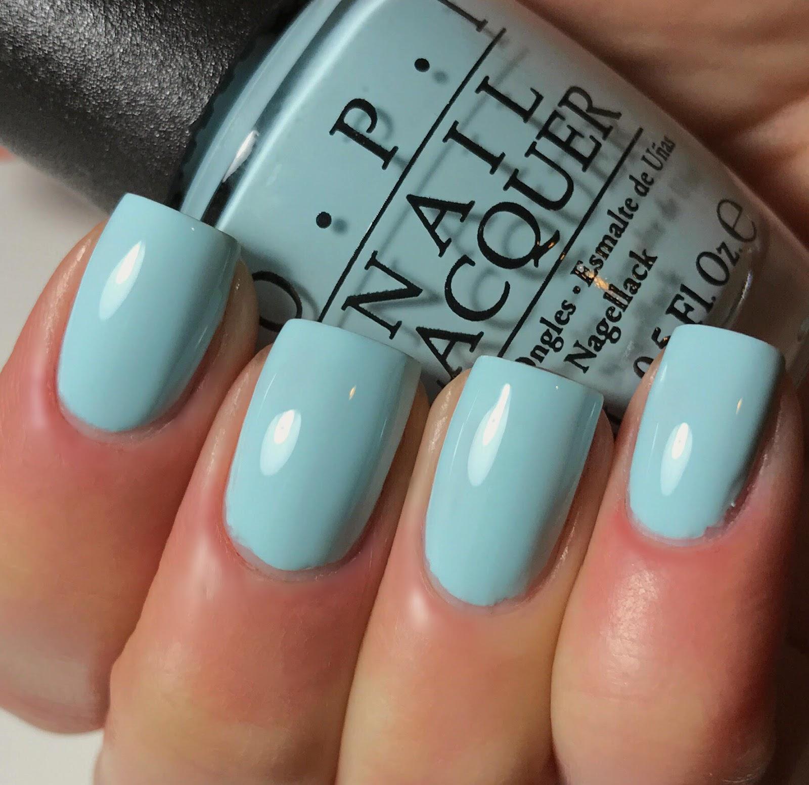 Tiffany Blue Nail Polish Opi - Creative Touch