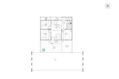 Contoh Gambar Kerja Rumah Sederhana 1 Lantai  di Jalan Wates Yogyakarta