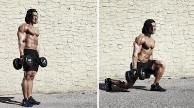 تدريبات عضلات الرجل لبطل فيلم ثور