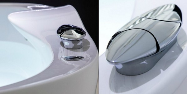 Bathroom Design Zaha Hadid Bathtub Valve Tap Chromed