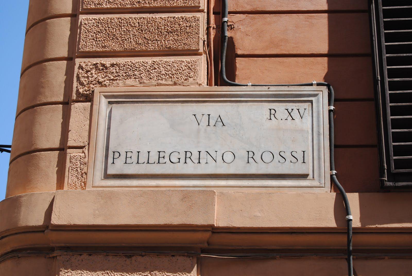 Orbis Catholicus Secundus: Rome's Via Pellegrino Rossi: In
