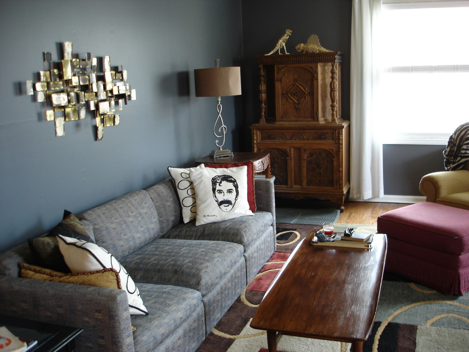librarian tells all: I live here: Living Room Makeover