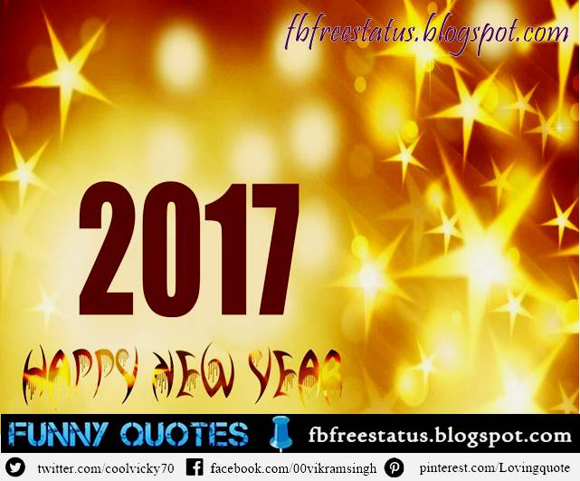 Short New Year 2017 Wishes, Short New Year 2017 Messages