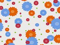 Blumenmuster 1