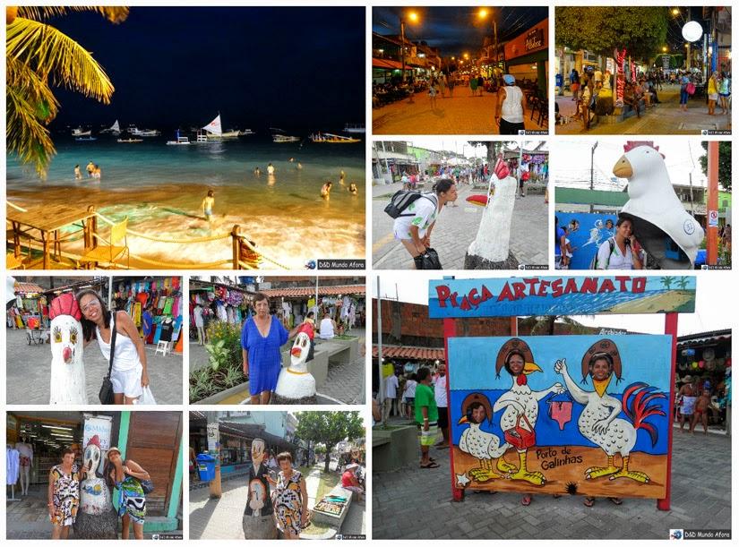 O que fazer em Porto de Galinhas - Pernambuco - Vila de Porto de Galinhas