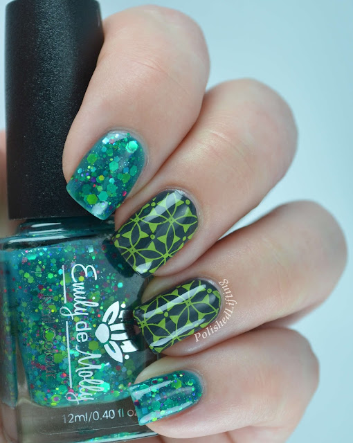 Emily de Molly Monet's Garden Sally Hansen Insta Dry Lickety Split Lime Sinful Shine Steel Reserve Pueen 49