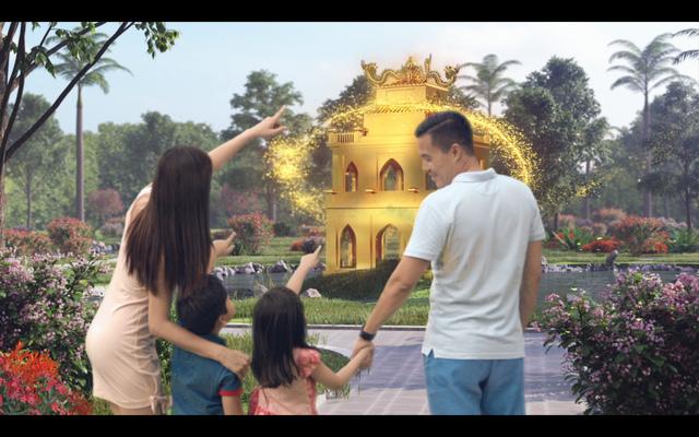 Công viên cây xanh tại Condotel Đà Nẵng