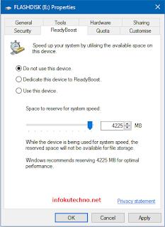 Tips ampuh mempercepat kinerja komputer dengan Flashdisk