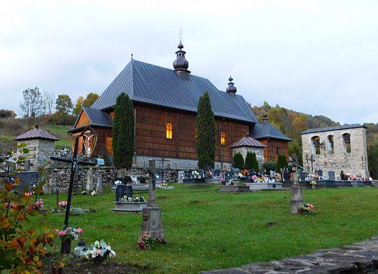Cerkiew pw. św. Michała Archanioła w Wierchomli Wielkiej.