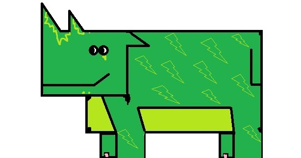 Ignite Dreams : How to draw a lion in MS paint using Shapes