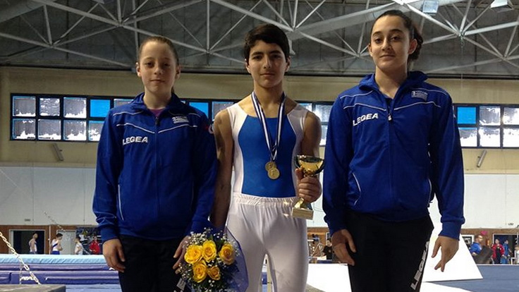 Σημαντικές διακρίσεις για τον ΟΕΓΑ στο Πανελλήνιο Πρωτάθλημα Ενόργανης Γυμναστικής Εφήβων - Νεανίδων