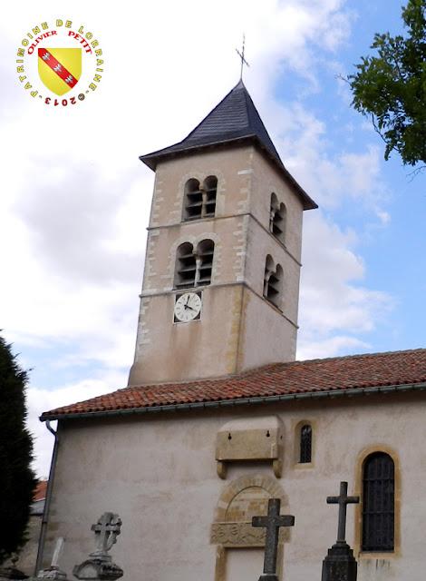 MEY (57) - Eglise Saint-Pierre - Clocher roman
