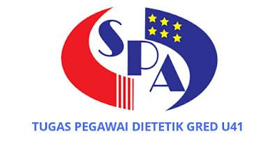 Gaji, Kelayakan & Tugas Pegawai Dietetik Gred U41