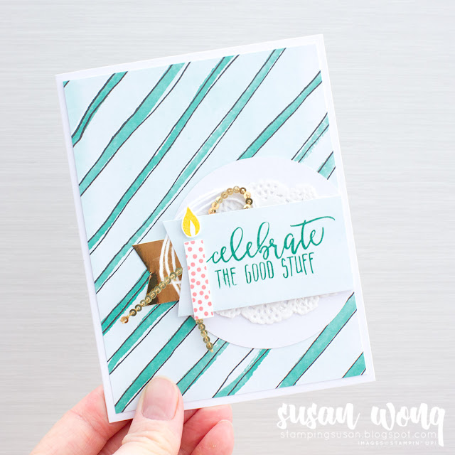 Garden in Bloom + Picture Perfect Birthday - Stamping Susan Wong